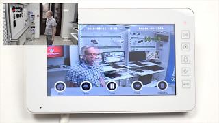 Видео. Обзор цветного видеодомофона с детектором движения PVD-7L v.7.1