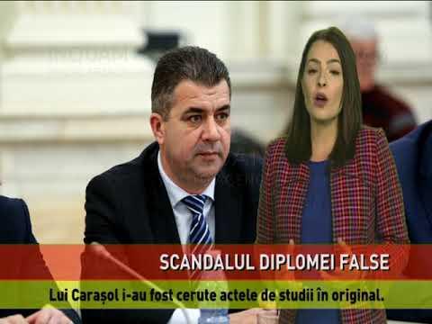 Anchetă în cazul diplomei false a lui Marius Carașol, fostul șef Transelectrica