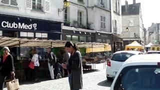 Senlis France  city images : Town Centre and Market, Senlis, France