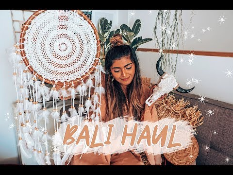 What I Bought In Bali .. Bali Boho Room Home Decor Haul | Shewearsfashion