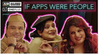 Video AIB : If Apps Were People MP3, 3GP, MP4, WEBM, AVI, FLV Maret 2018