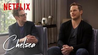 Video Guardians of the Galaxy's Chris Pratt and James Gunn (Full Interview) | Chelsea | Netflix MP3, 3GP, MP4, WEBM, AVI, FLV Januari 2019