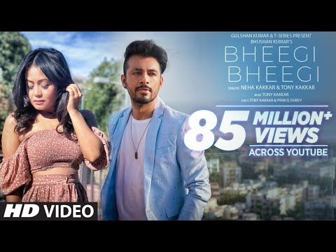 Bheegi Bheegi Official Music Video | Neha Kakkar, Tony Kakkar | Prince Dubey | Bhushan Kumar
