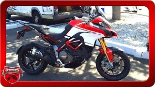 2. 2016 Ducati Multistrada 1200 S Pikes Peak Motorcycle Review