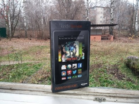 Распаковка Amazon Kindle Fire HDX 7″
