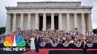 Watch President Donald Trump's Full July 4th 'Salute To America' Military Event | NBC News