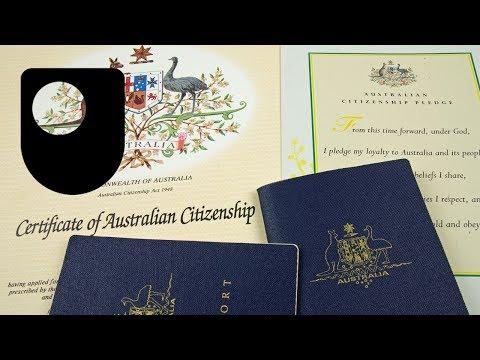 Australische Staatsbürgerschaft Zeremonie (2/2)