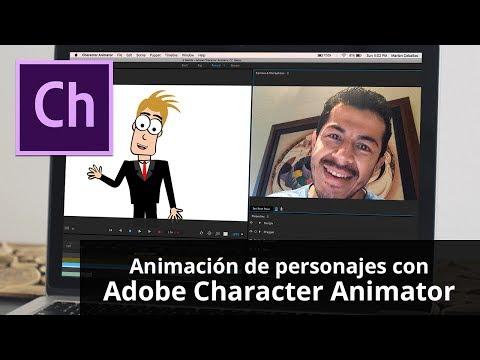 Animación de personajes con Adobe Character Animator CC