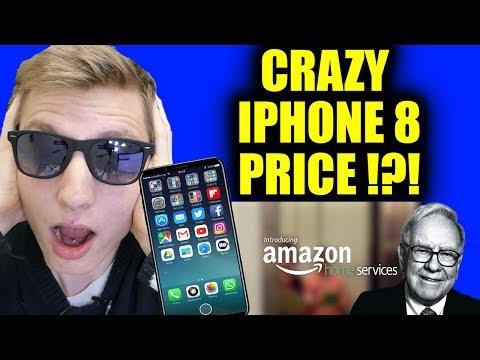 CRAZY IPHONE 8 PRICE!?! - AMAZON GEEK SQUAD!!! - WARREN BUFFET GOT OUTBID!!!