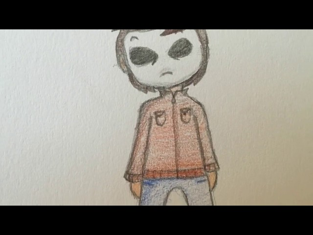How-to-draw-chibi-masky-easy