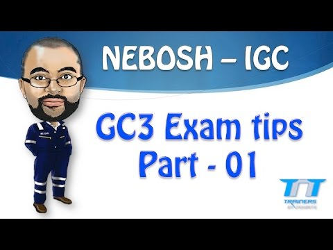 completed nebosh igc 3 practical The course the nebosh national general certificate is separated into the 3 units unit ngc1, gc2 and a practical assessment, gc3 once you finish the course and feel you are ready for the exams, we'll help and support you along the way.
