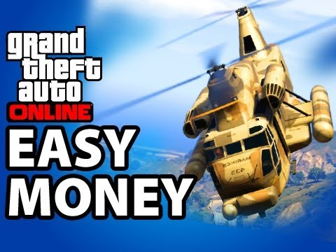 Best Way to Make Money in GTA 5 Online, $180,000 /Hour Mission, GTA V Online Tips and Tricks