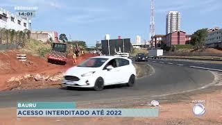 Alças de acesso para avenida Cruzeiro do Sul em Bauru vão ser interditadas