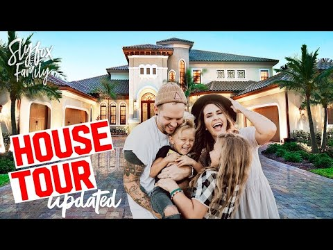 2017 Updated HOUSE TOUR!! Slyfox Family