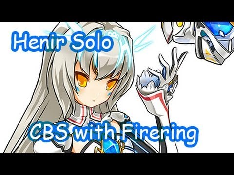 [Elsword KR] Henir Challenge mode Solo Play #57 (Code Battle Seraph)