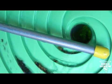 Guldskruv spiralkoncentrator