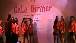AFC U-13 Girls' Football Tournament Gala Dinner - Philippine Team Presentation