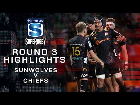 Sunwolves v Chiefs Rd.3 2020 Super rugby video highlights   Super Rugby Video Highlights