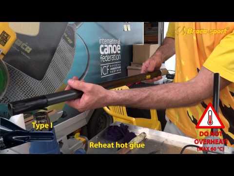 Cách lắp ráp chèo Canoe Paddle