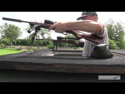 .17HMR comparison test vs .22 Rifle bullet review shooting
