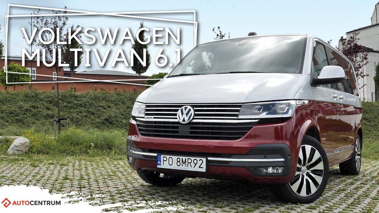 Volkswagen Multivan 6.1 - chce być jak pradziadek. Bulli wysoko postawił poprzeczkę