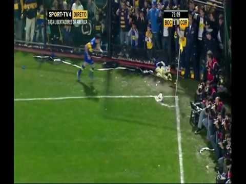 El gol de Roncaglia.