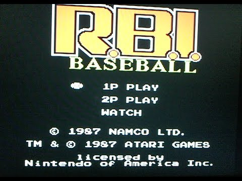 R.B.I. Baseball 2 NES