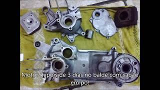 5. Fenix de volta a vida. Motor Hyosung SD50 - 50cc recuperação