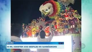 Segunda noite de desfiles em Bauru teve cinco blocos e três escolas