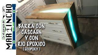 Video Barra con Cascada con Resina Epoxica MP3, 3GP, MP4, WEBM, AVI, FLV Desember 2018