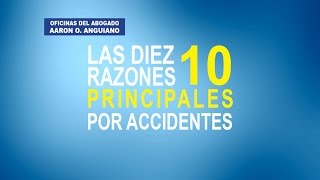 10 Razones Principales Por Accidentes