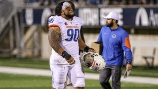Stand-out DT/DE for Boise State (2016 NFL Draft prospect).