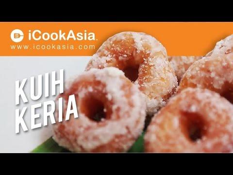 Resepi Kuih Keria Yang Mudah dan Sedap | iCookAsia