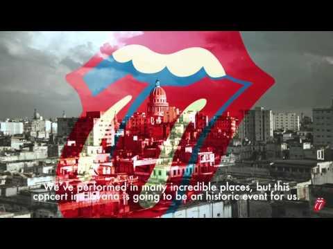 Saludo de The Rolling Stones a Cuba