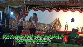 Video SERU...!! Goro goro mas bayu potong rambut -cak yudho cs MP3, 3GP, MP4, WEBM, AVI, FLV Maret 2019