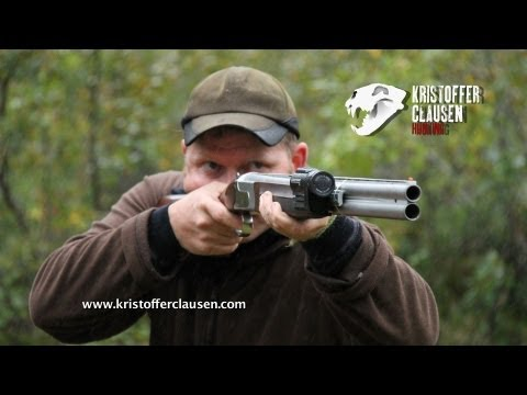 Kristoffer Clausen filming hunting with Contour camera, 8 kills