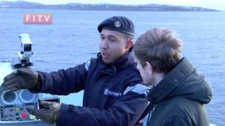 The HMS Clyde is the Royal Navy's resident ship in the Falkland Islands. Usually militarry vessels are pretty top-secret, but every...