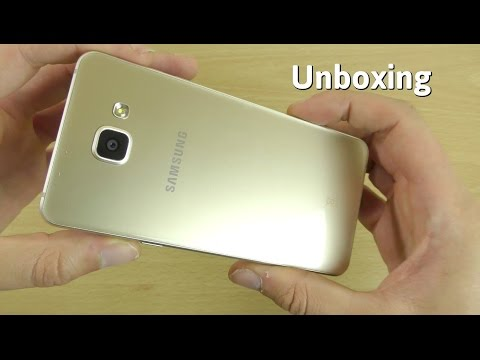 Samsung Galaxy A5 2016 - Unboxing & First Look! (4K)