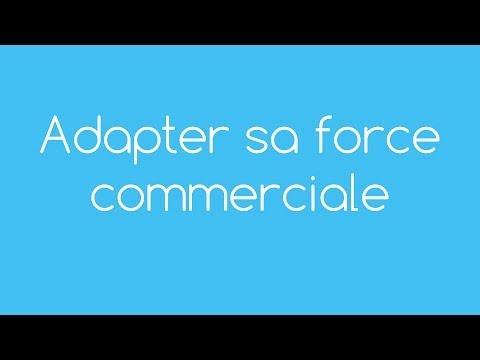 Vidéo sur Adapter sa force commerciale
