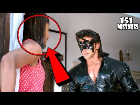 "(151 Mistakes) In Krrish 3 - Plenty Mistakes In "" Krrish 3 "" Full Hindi Movie - Hrithik & Priyanka"