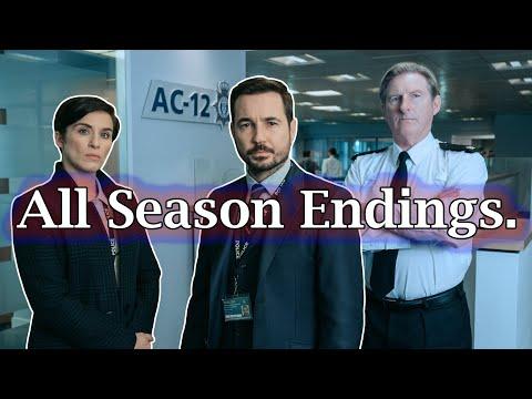 (Spoiler) Line of Duty All Season Endings (S1-S5) HQ