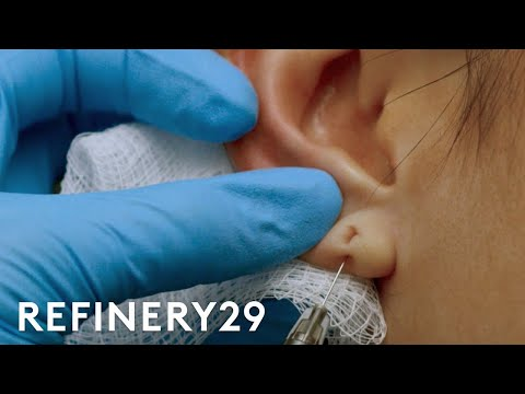 The 15 Minute Fix To Stretched Piercing | Macro Beauty | Refinery29
