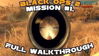 Call of Duty Black ops 2 -  Mission #1