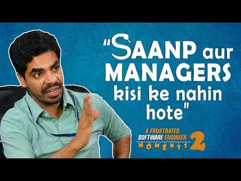 Frustrated Software Engineer (FSE) Moments | E02 Saanp aur Managers kisi ke nahin hote