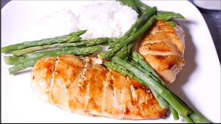 Learn how to make Asian style baked chicken breast with Asparagus as a side dish. It's juicy, tender and delicious. You can also...