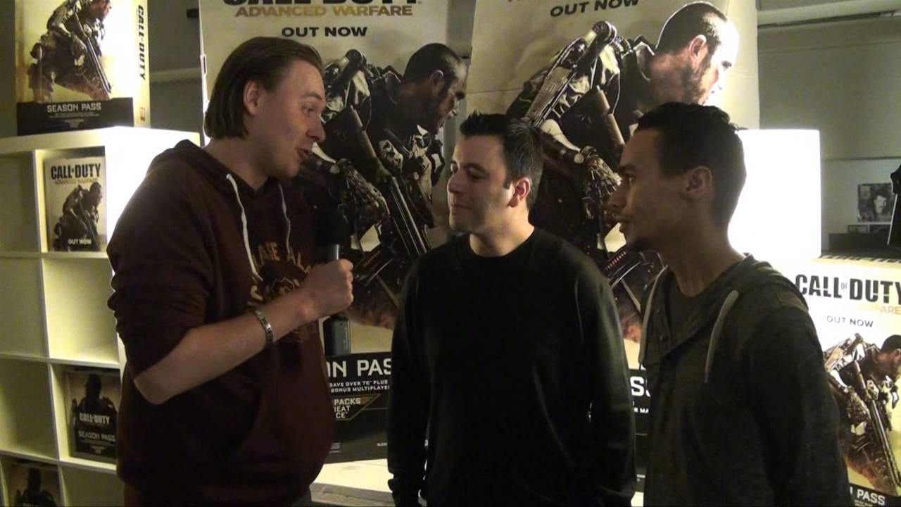 Video-item: Lennard bezoekt de Call of Duty: Advanced Warfare launchparty