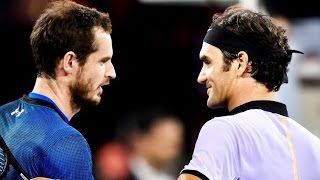In an entertaining, sold-out exhibition event, Roger Federer played Andy Murray (current number one in the ATP rankings) in The...