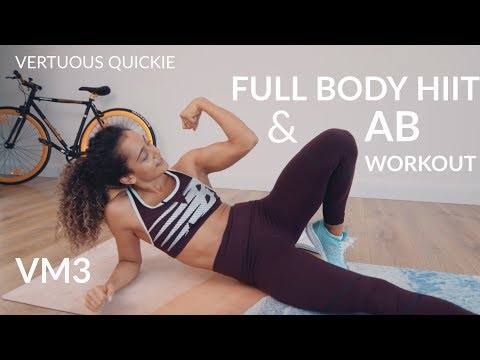 FAT BURNING FULL BODY HIIT - real time, full sequence | Shona Vertue | Workout VM3