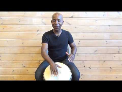 Exercise 3: How to play the djembe lesson – african drum and rhythm training