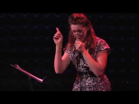 """Grace McLean performs """"Where is the White Light?"""" in Let Me Ascertain You: F*cking & Dying at Joe's Pub."""